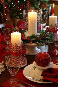 tisch weihnachtlich dekorieren mit diesen farben candle light pinterest weihnachten. Black Bedroom Furniture Sets. Home Design Ideas