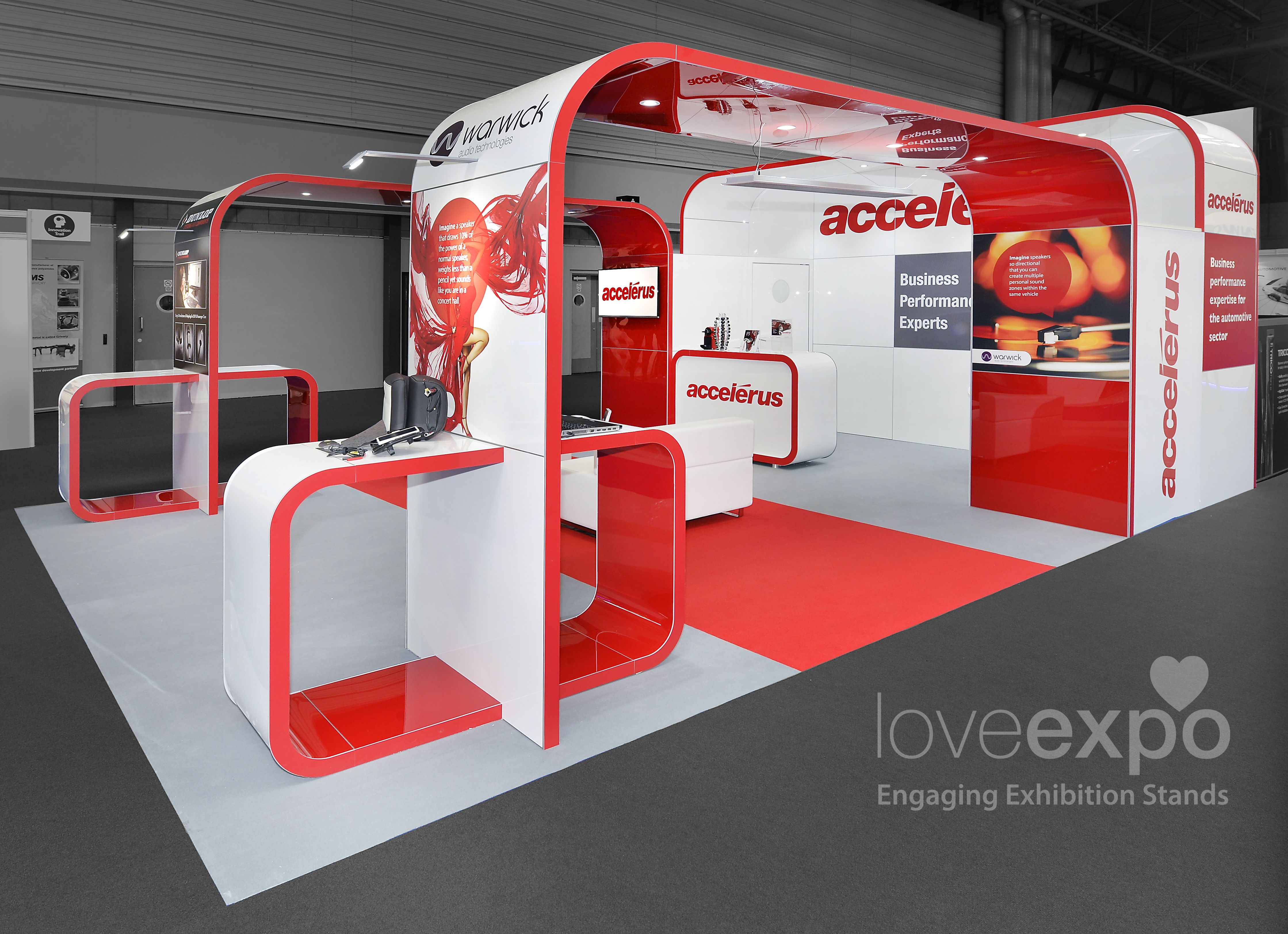 7m x 5m Exhibition Stand at Automechanika #exhibition #design #build #install #exhibitionstand #standdesign #customstand