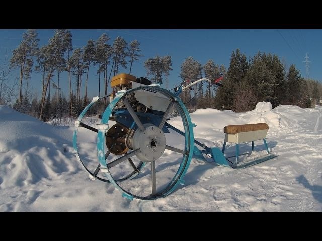 Снеготолкатель на колесах своими руками 67