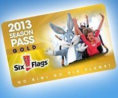 Six Flags Discounts Buy 2013 Season Passes Now Go Free Rest Of 2012 Six Flags Seasons Six Flags Fiesta Texas