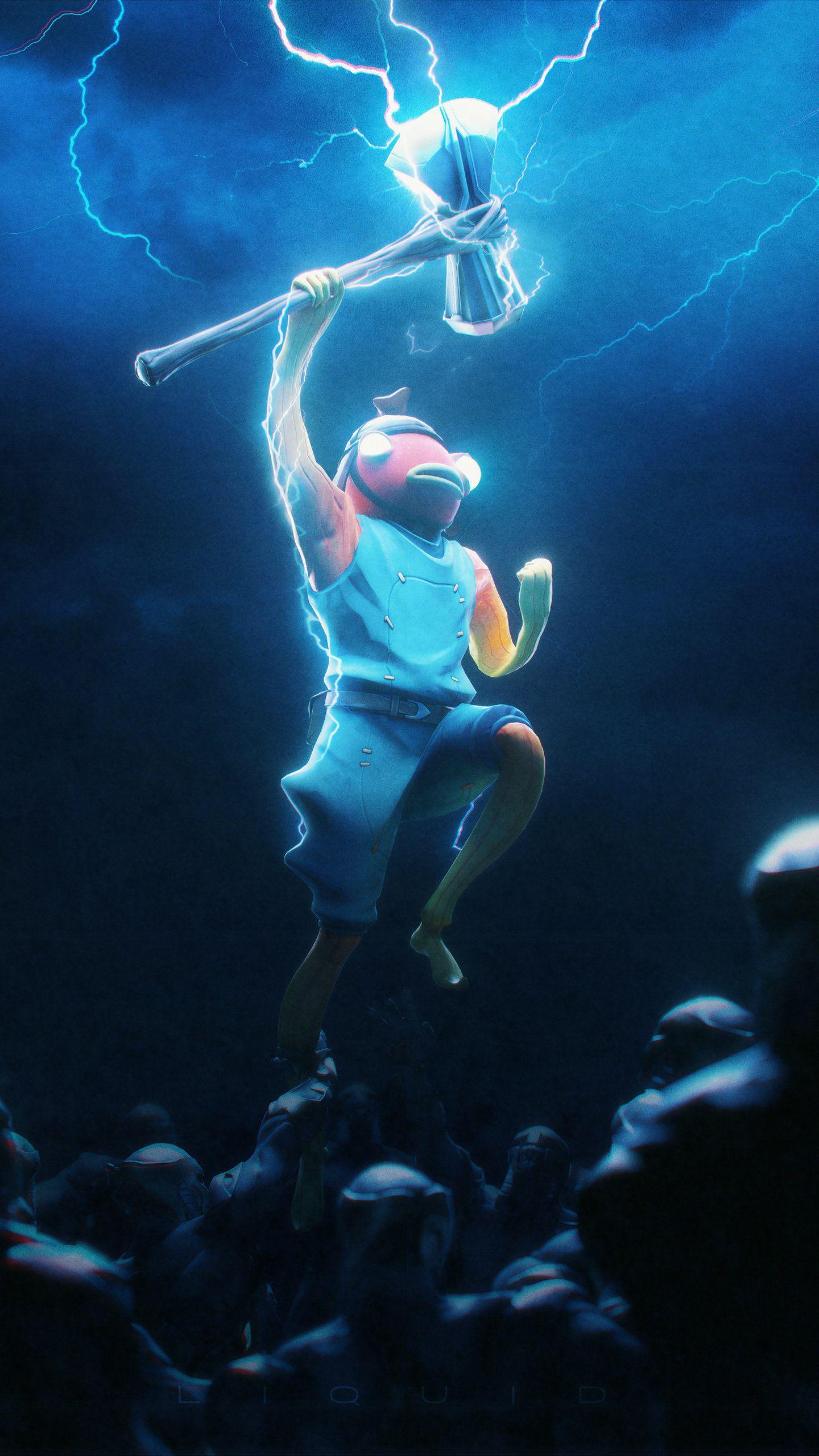 Moisty Merman Fortnite 4K HD Wallpaper in 2020 Best