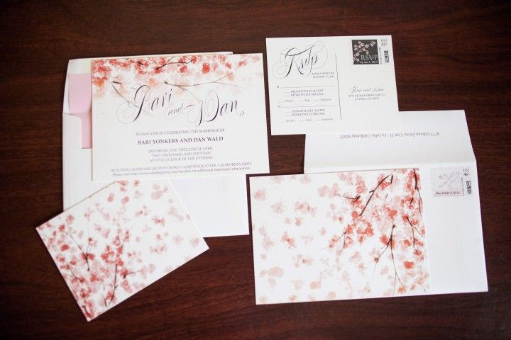 Army Wedding Invitations: California Wedding: Sweet Pink Military Wedding