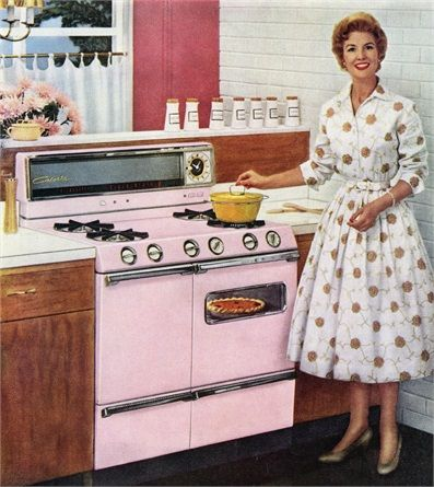 50\u0027 mood Take a picture! Pinterest Vintage kitchen and Kitchens - Idee Deco Cuisine Vintage