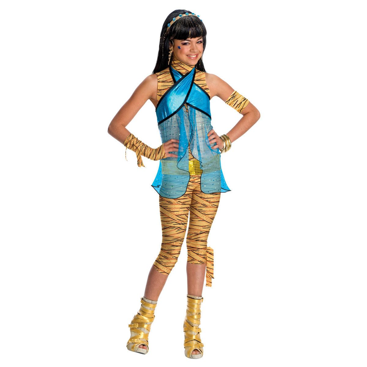 Disfraz Nina Monster High Cleo De Nile