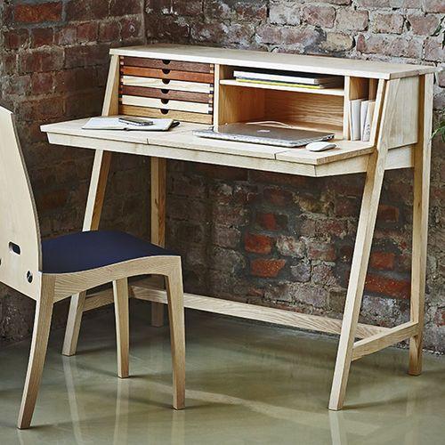 Contemporary Secretary Desk Wooden Sixtematic Belle 2 1 Sixay Furniture Secretary Desks Home Office Furniture Design Diy Wood Projects Furniture