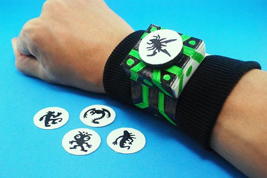 make a ben 10 omnitrix kiddos pinterest ben 10 ben 10 party