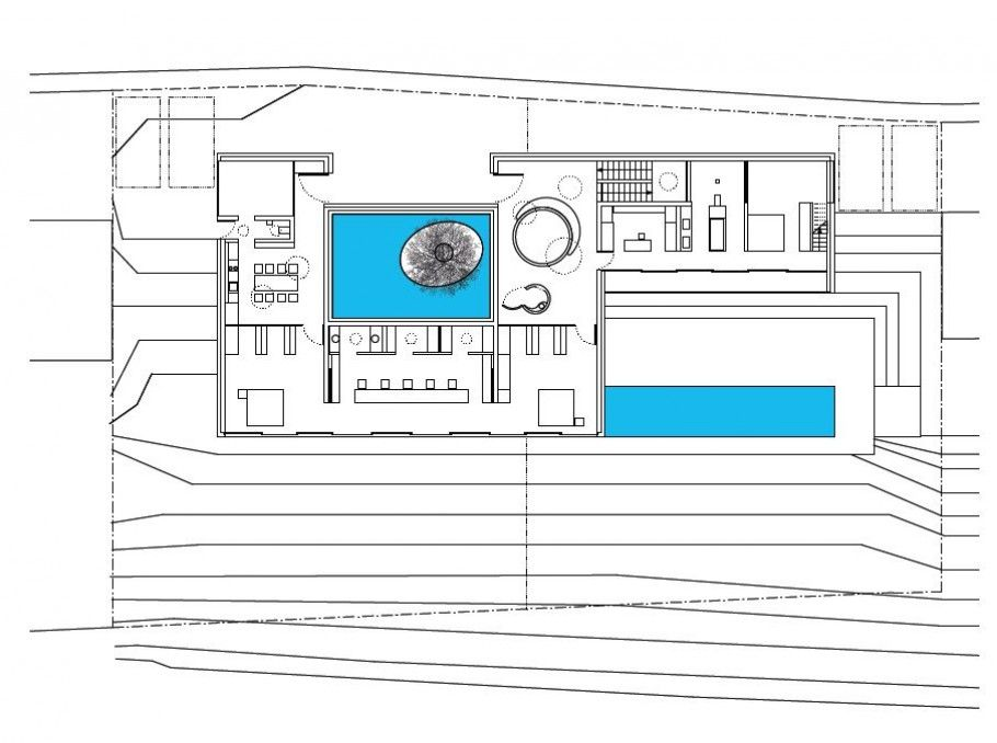 Home Design And Interior Design Gallery Of Fantastic German Architecture Modest Home Floor Plan House Floor Plans Interior Design Gallery Modern House Plans