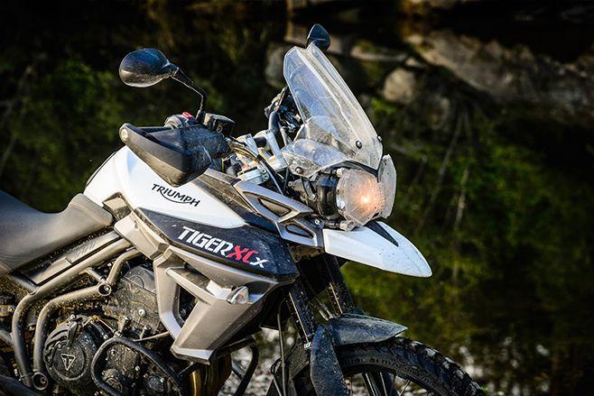 Triumph Tiger 800 XCx http://www.amcn.com.au/reviews/road-tests/1505/hidden-dragon-triumph-tiger-800-xcx/
