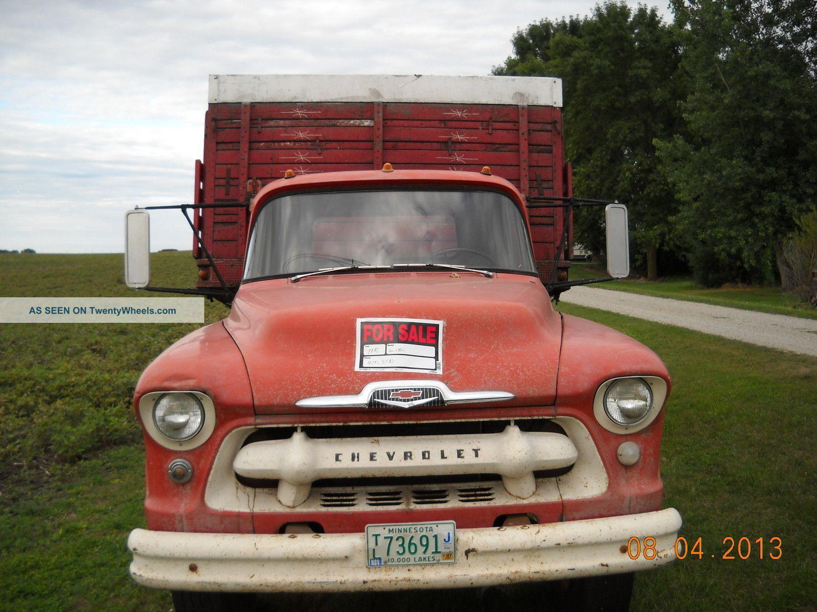 1956 Chevrolet Chevy 6400 Chevy Trucks Chevrolet Chevrolet Trucks