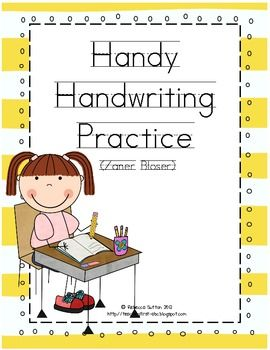 Handwriting - Zaner Bloser | Literacy Ideas | Kindergarten ...