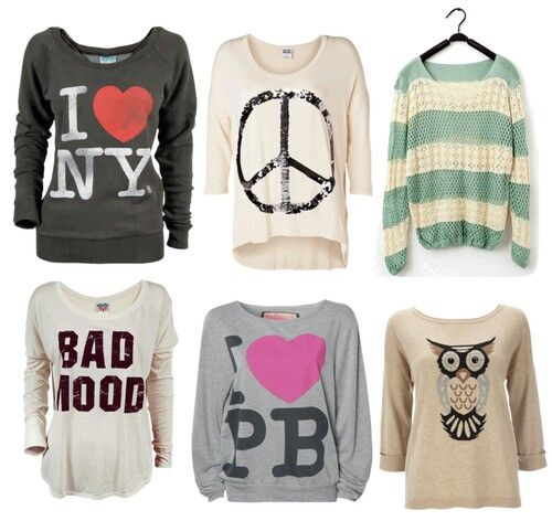 ♡ing the owl top and the striped one above it! X