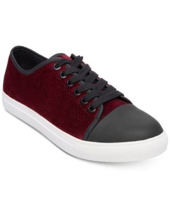 c0842db7b1c Steve Madden Men's Barrage Velvet Sneakers - Purple 9 | Products in ...