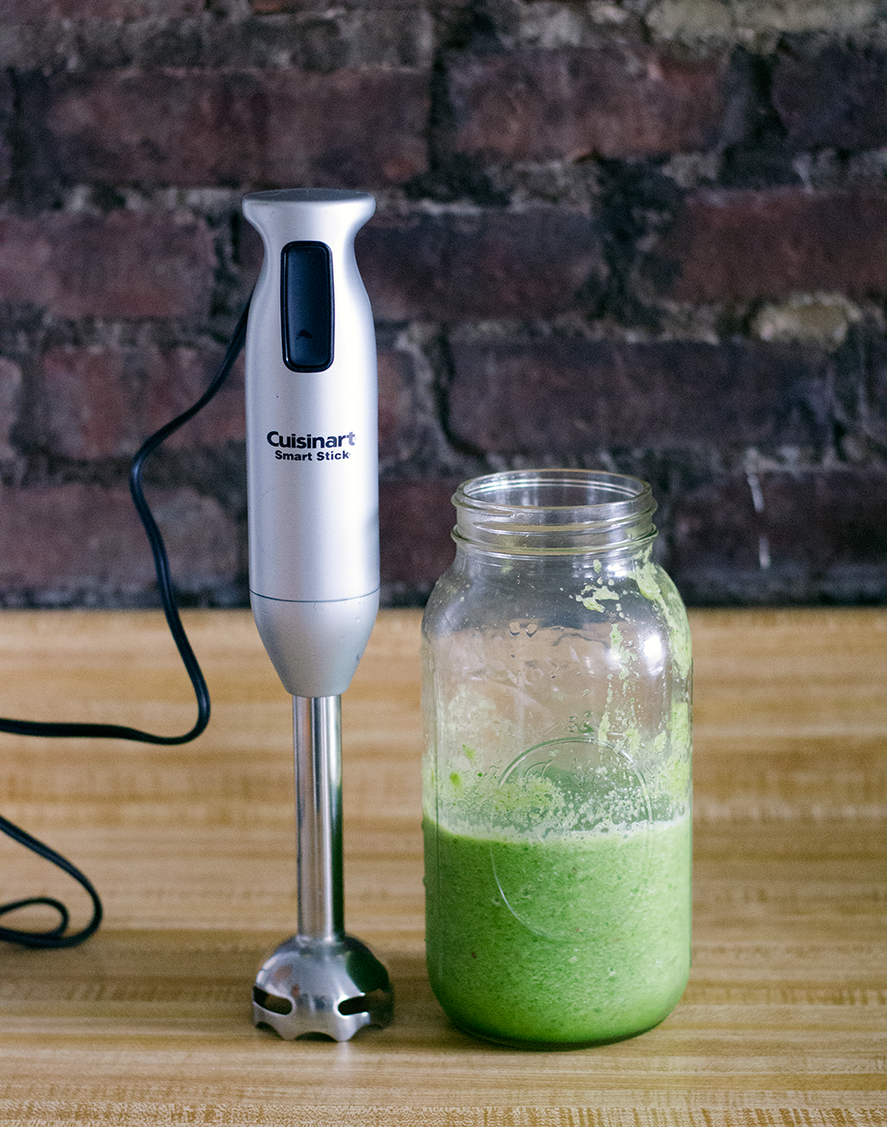What should I do with a blender