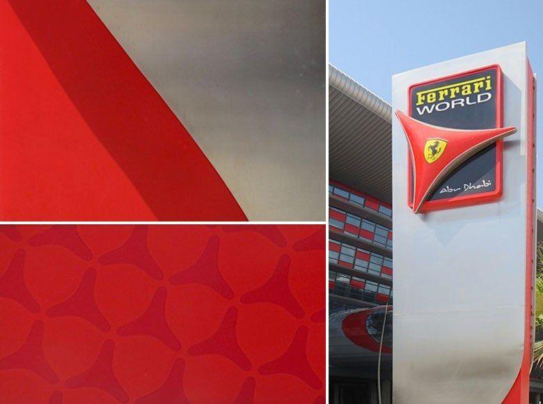 Rama مدينة عالم فيراري Ferrari World Abu Dhabi Ferrari World Abu Dhabi