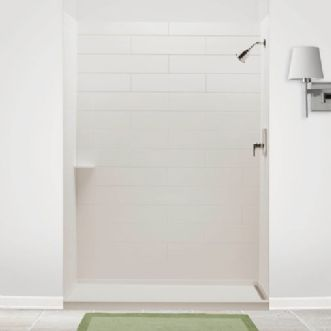 Charming American Standard Shower Surround   Subway Tile Solid Surface