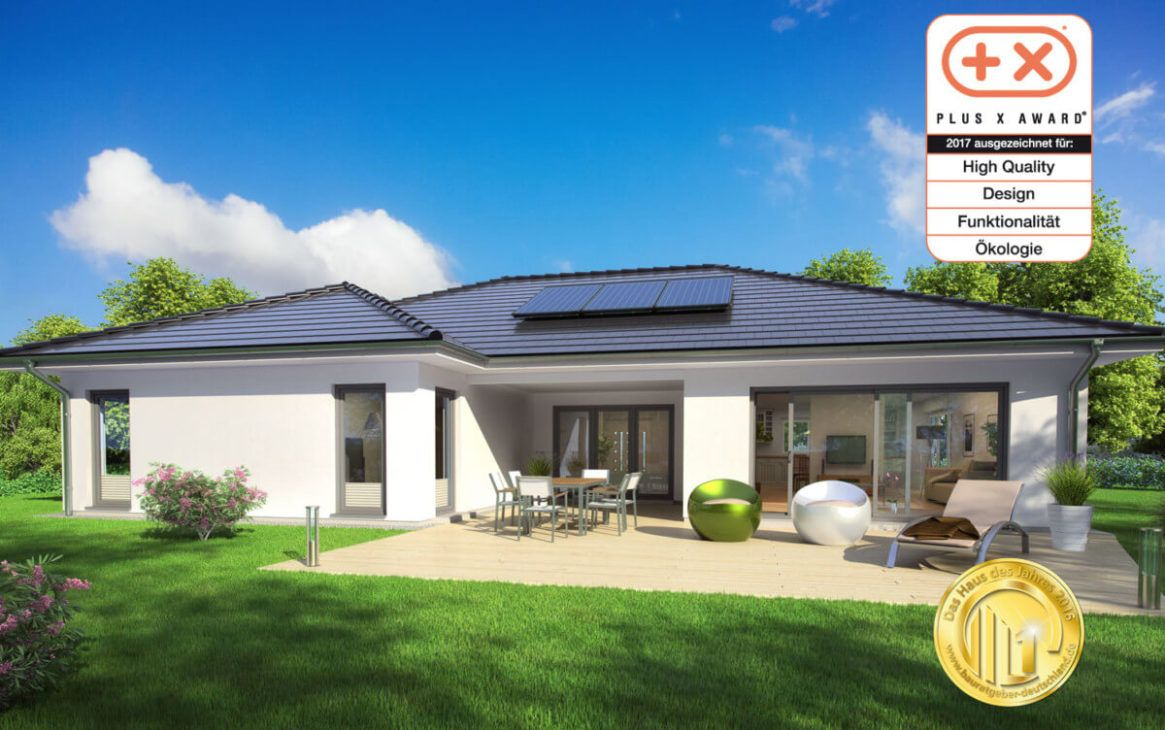 bungalow sh 169 wb walmdach scanhaus marlow. Black Bedroom Furniture Sets. Home Design Ideas