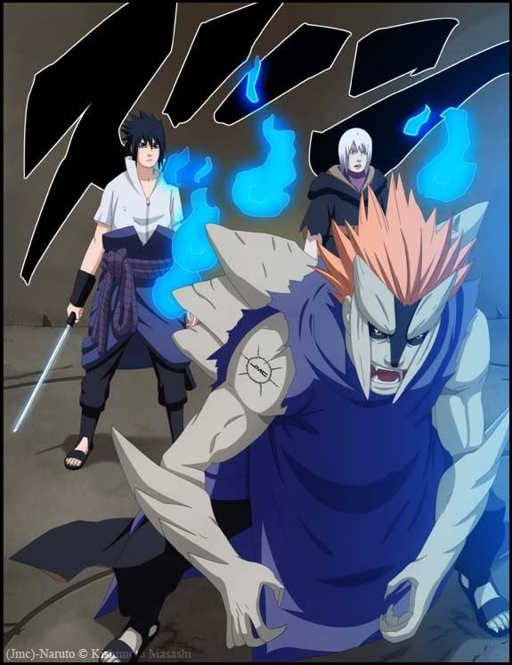 Sasuke Jugo Suigetsu Anime Naruto Anime Manga Anime