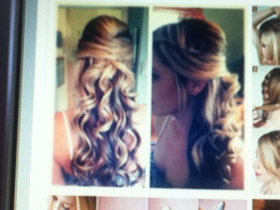Great prom hair due