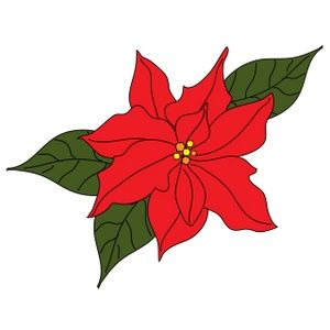 poinsettia clip art free clipart best poinsettia pinterest rh pinterest com christmas poinsettia clipart christmas poinsettia clipart