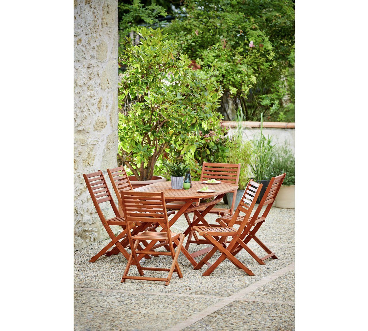 Buy home newbury 6 seater patio set at argos co uk your online shop for garden table and chair sets garden furniture home and garden