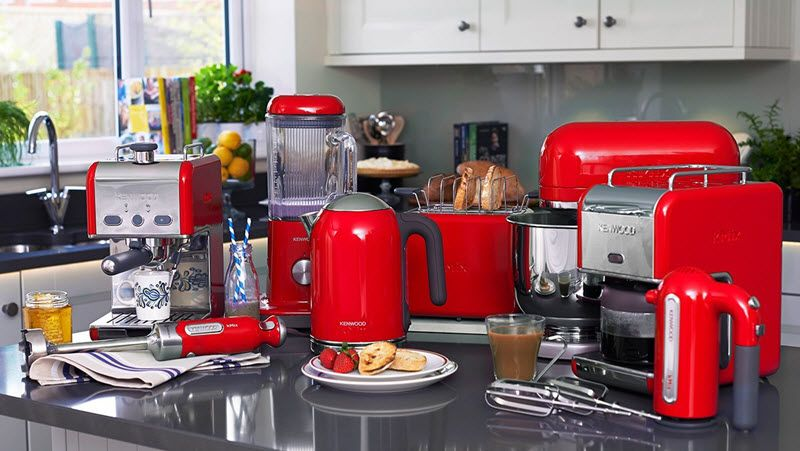 top red trendy kitchen appliances singapore qrmart magazine intended for the most awesome red on kitchen appliances id=55223