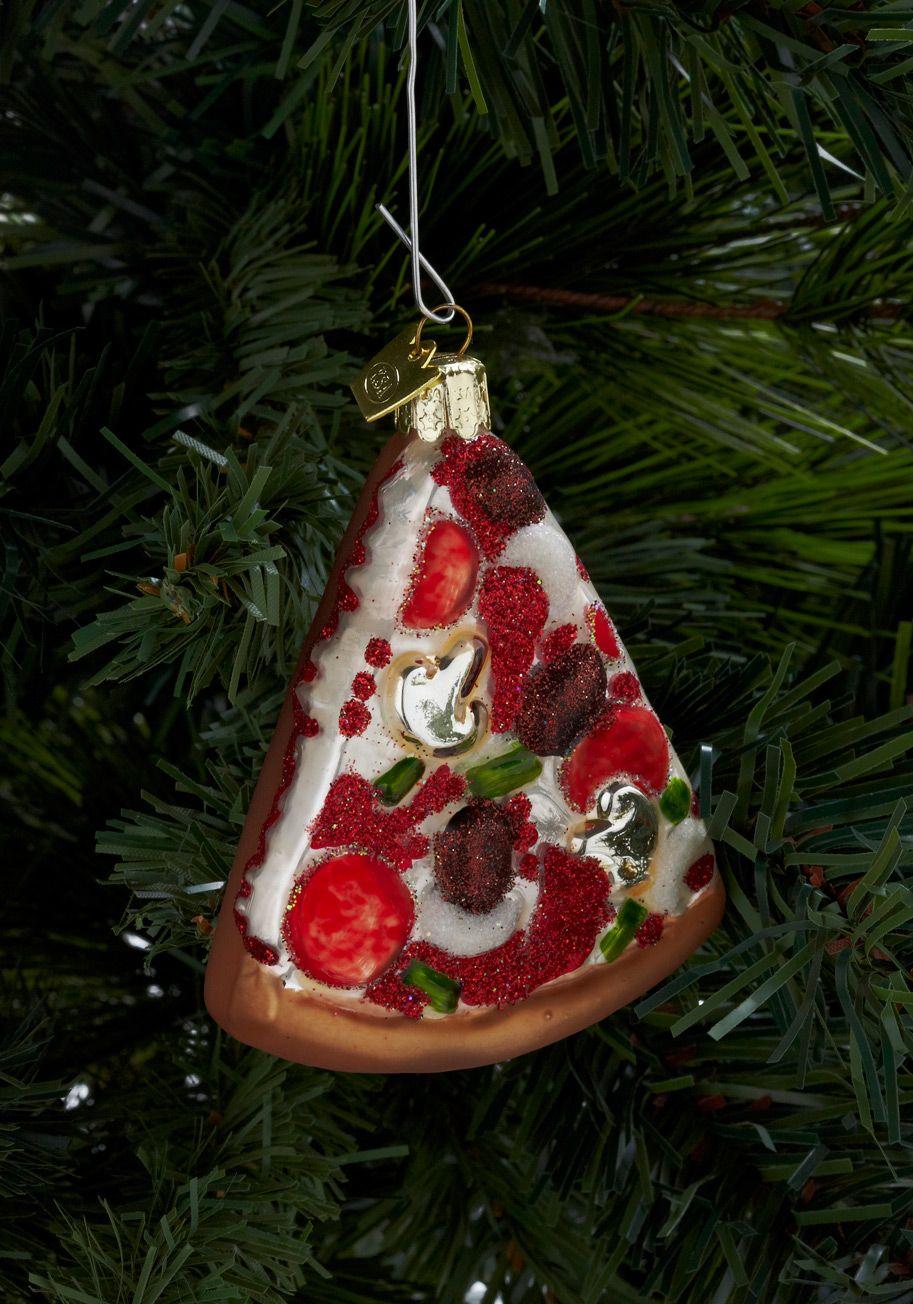 Pizza ornament.