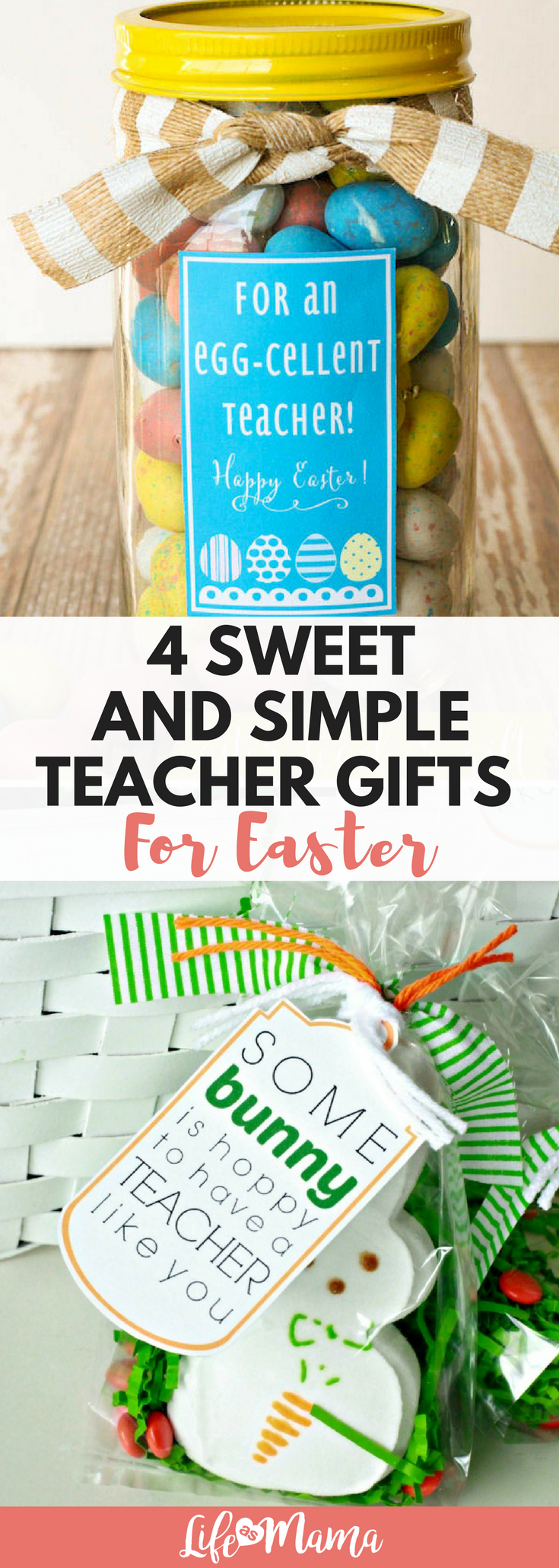 4 sweet and simple teacher gifts for easter negle Images