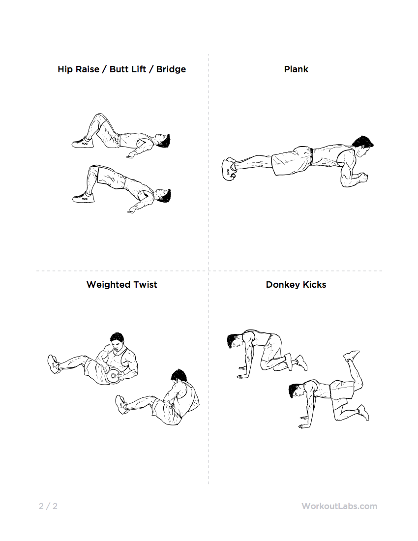 Home Workout Plan For Men ultimate at-home no equipment workout routine for men & women
