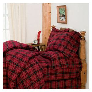 Middlebury Plaid Flannel Bedding - Sheets- Flannel