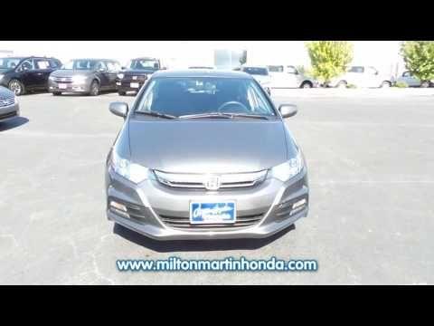 Awesome USED 2014 Honda INSIGHT 5DR CVT LX At Milton Martin Honda #K2819