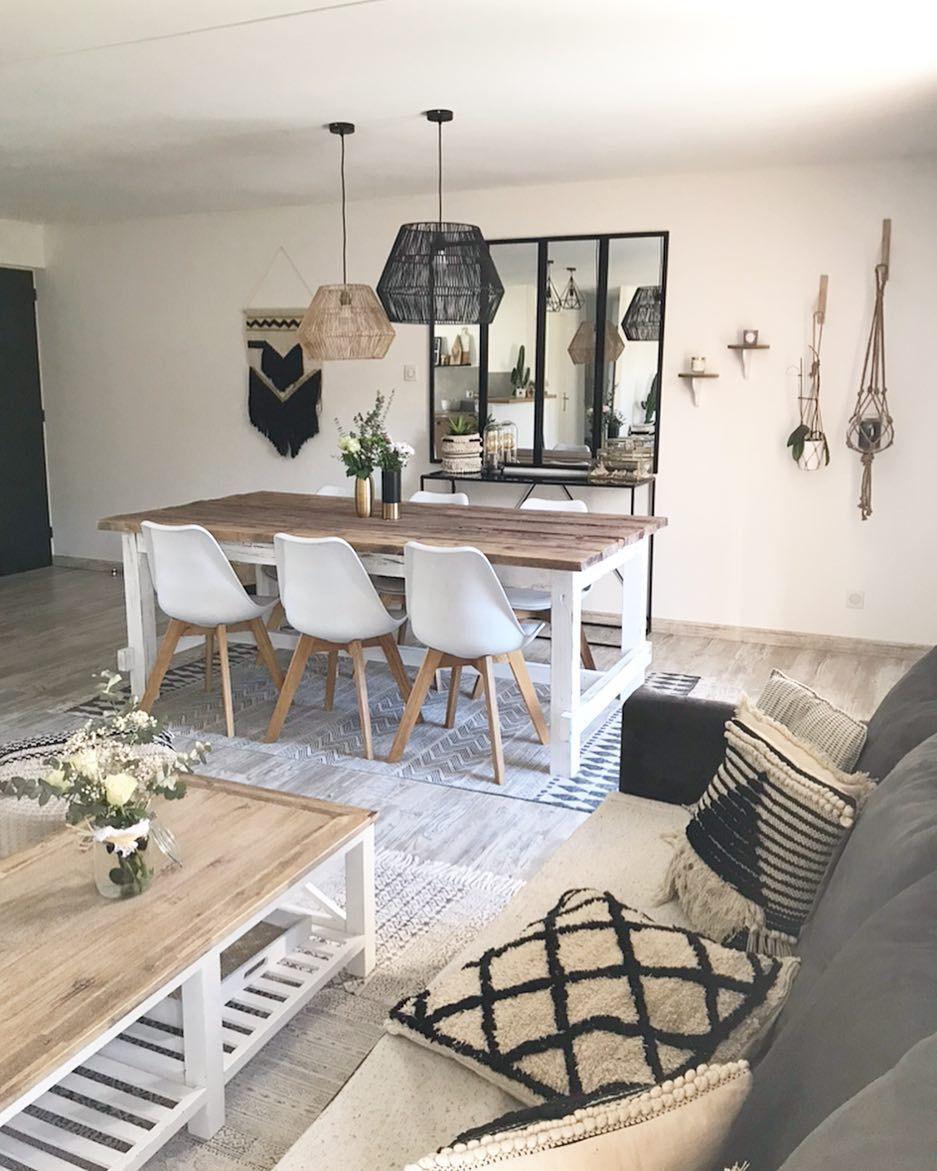 Instagram  Déco salon cocooning, Deco maison interieur