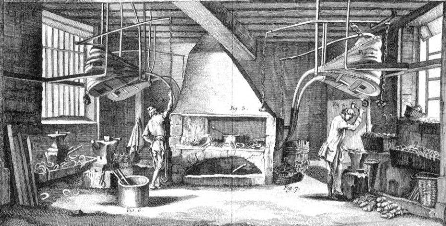 Средневековая техника меха картинки