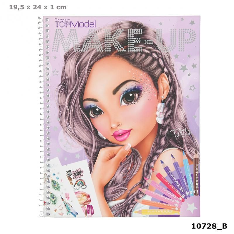 Photo of TOPModel Make Up Colouring Book New Design by Depesche
