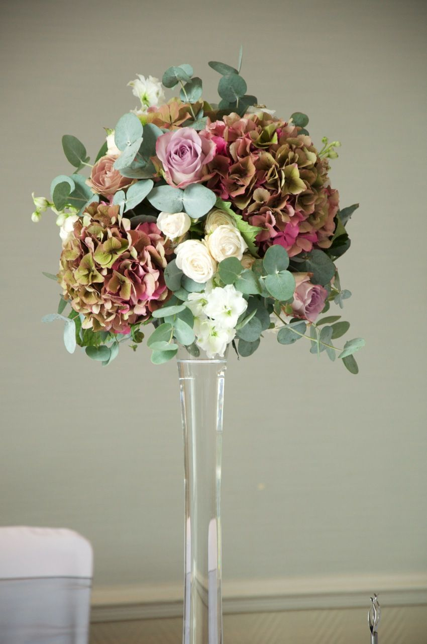 wedding flower arrangements Ko Ko Moroz Fashion this is one my favorite bouquets with the hydrangeas vintage hydrangea and rose wedding flower arrangements