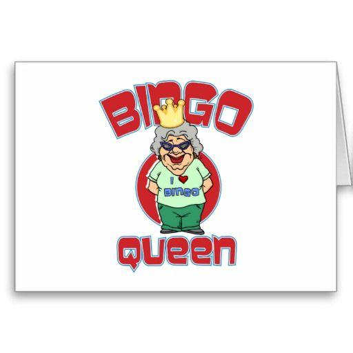 Bingo Queen - Customize Card