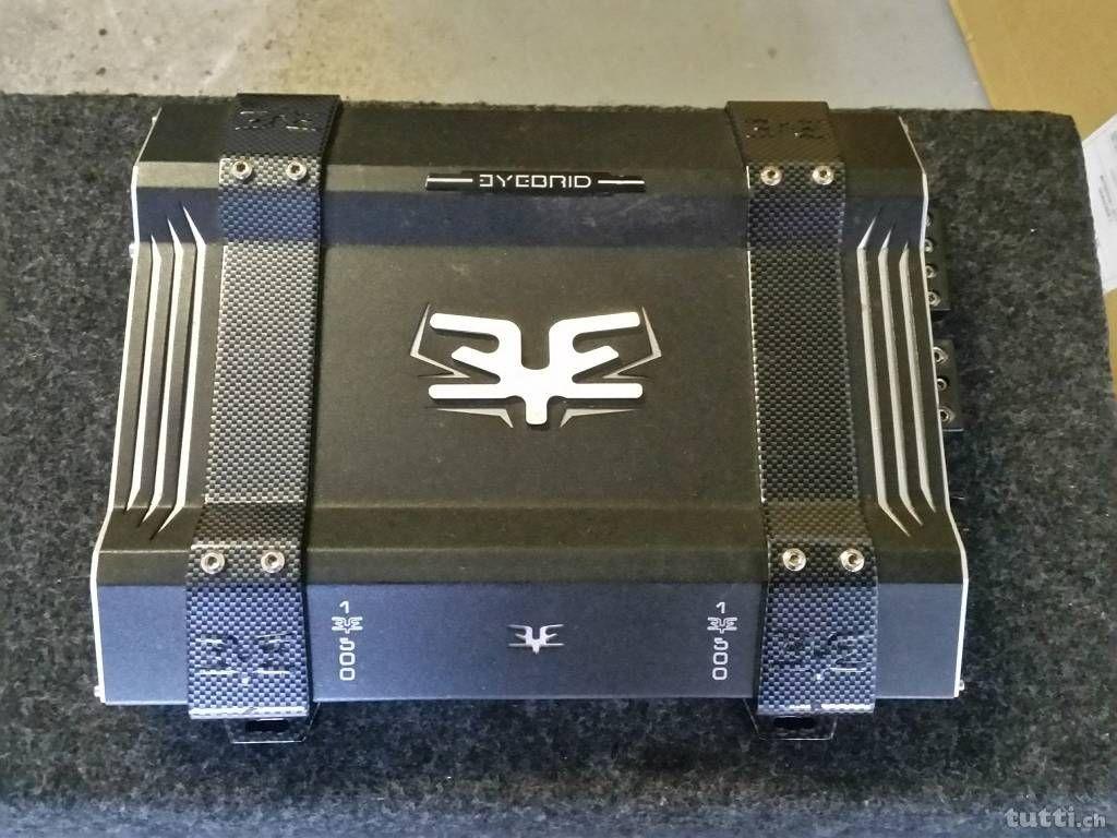 Eyebrid 1 X 500w Rms Amplifier By Mds Scandinavia Car Audio Kicker Dx 250 Wiring Diagram