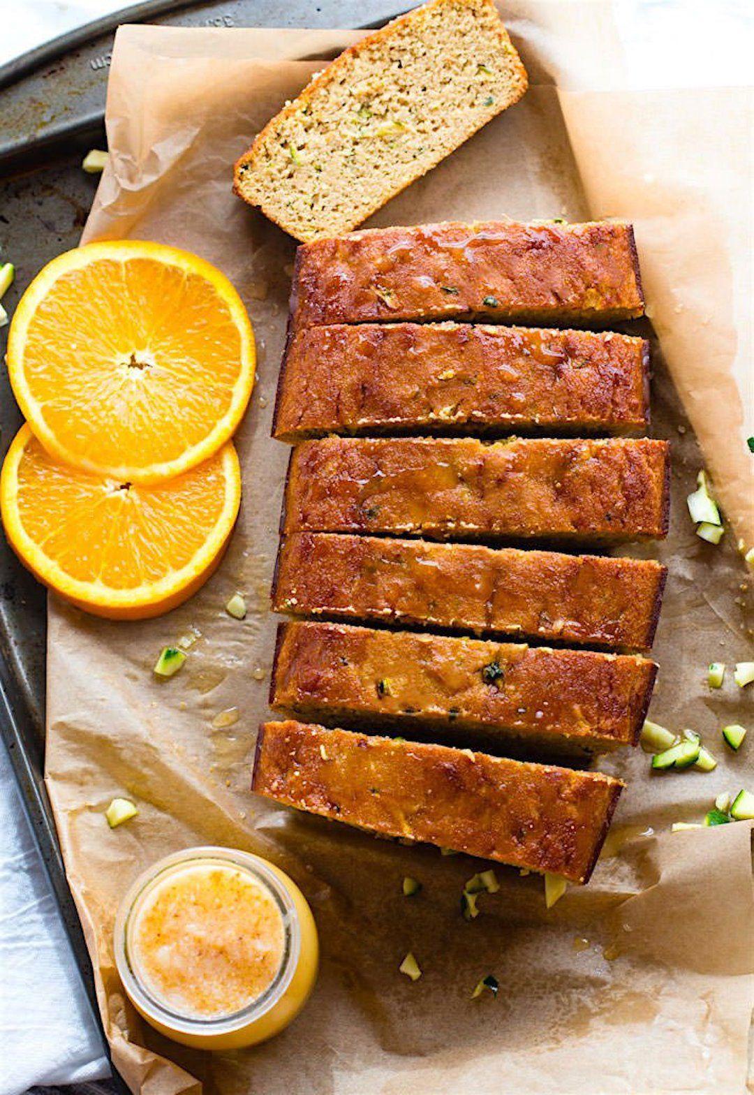 paleo orange zucchini bread quick bread recipe  recipe