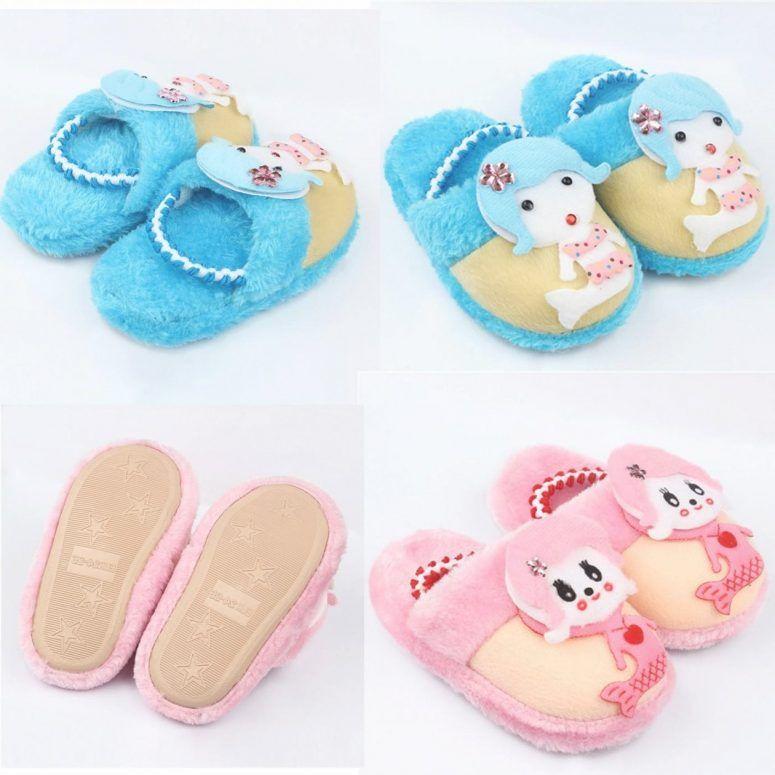 Kids Bedroom:Bedroom Shoes For Kids Children Fashion Winter Cotton ...