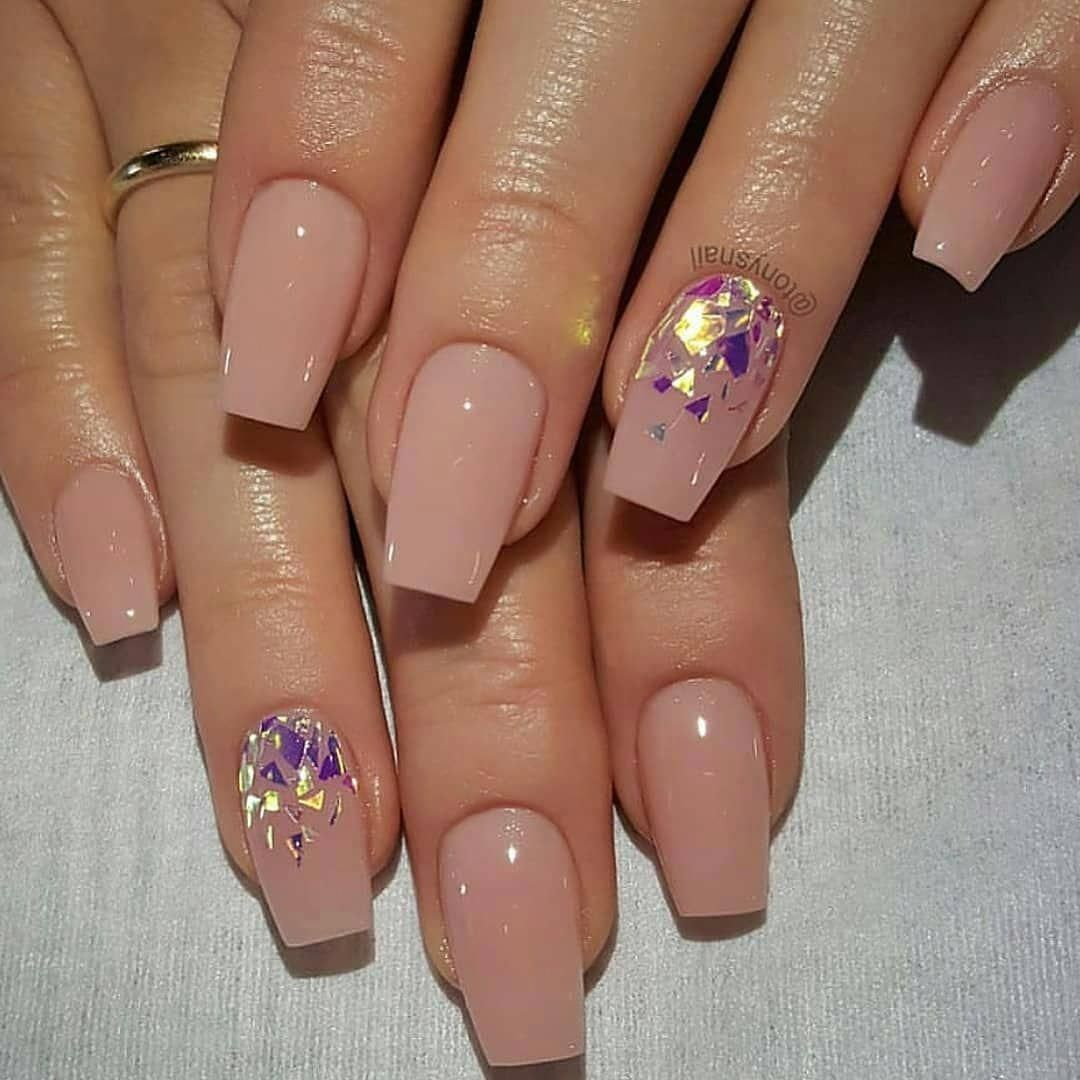 55 Best & Simple Nail Art Designs for Lady