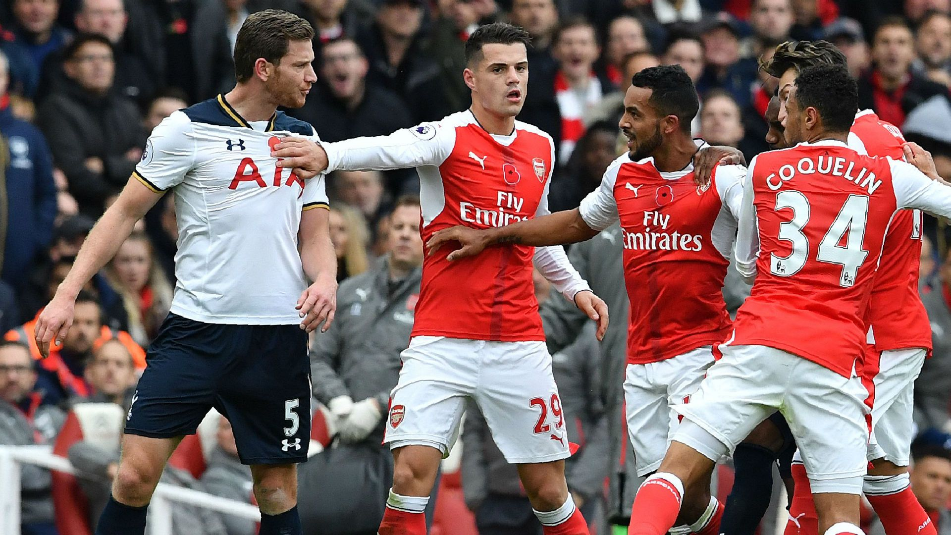 Watch online Arsenal vs Tottenham Hotspur live streaming
