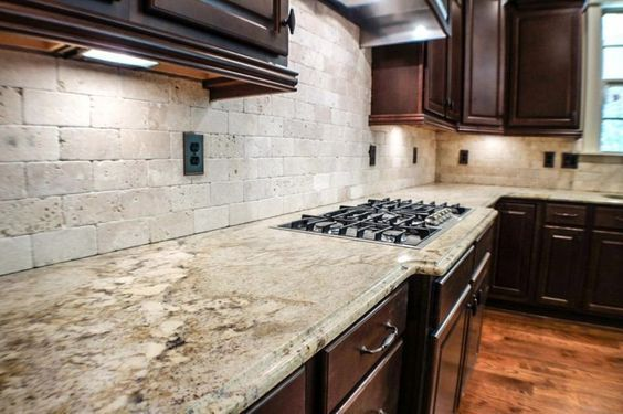 Kitchen Best Awesome Kitchen Countertops And Kitchen Backsplash