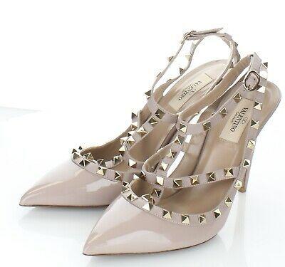 11-14 $1,000 Women's Sz 40.5 M Valentino Garavani Rockstud Caged 100MM Pumps #shoes #designer