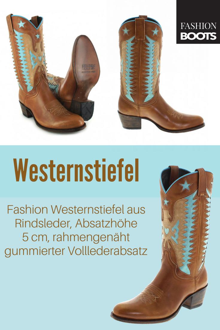 Boots 14144 Fashion Olimpia Celeste Sendra Westernstiefel gvYb6y7f