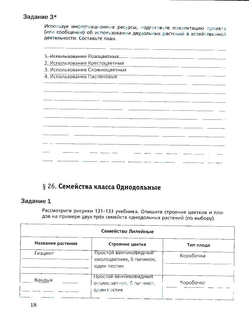 Административная контрольная работа по географии 7 класс с ответами