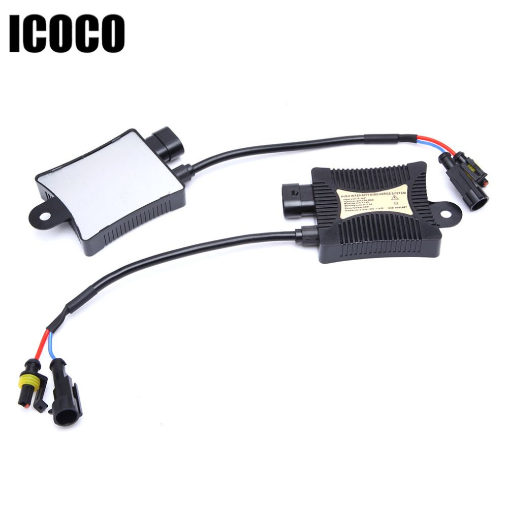 Slim Digital DC12V HID Xenon Ballast 55W Replacement for HID conversion kit H1H3