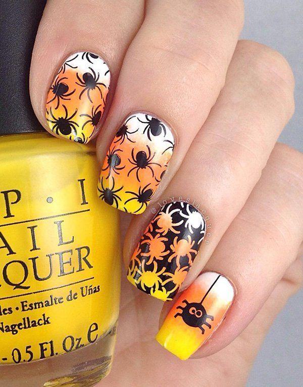 Halloween Nail Art 50 Cool Halloween Nail Art Ideas 3 3 Nail