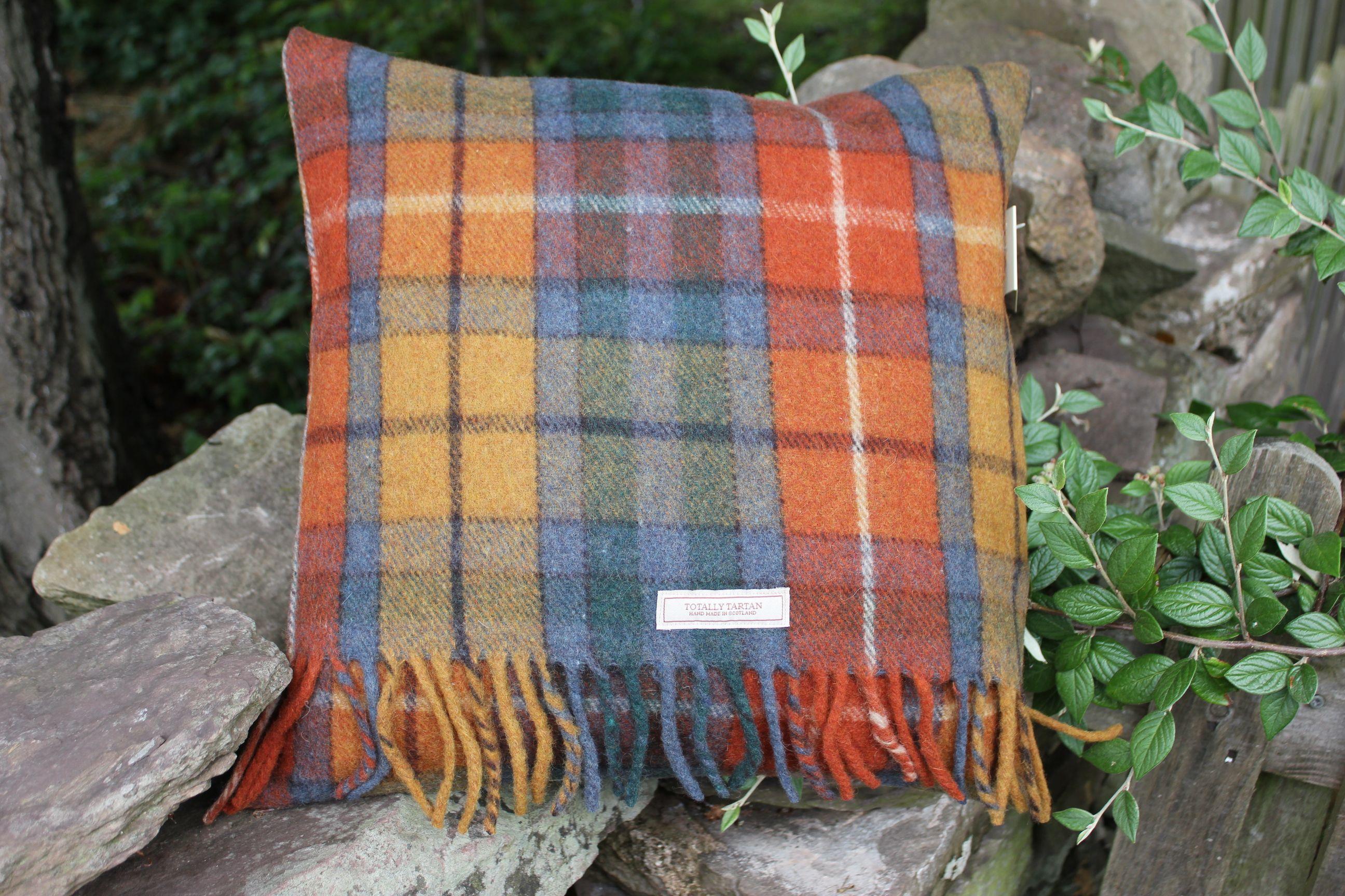 £38.00    Antique Buchanan Tartan Cushion   http://www.onemoregift.co.uk/