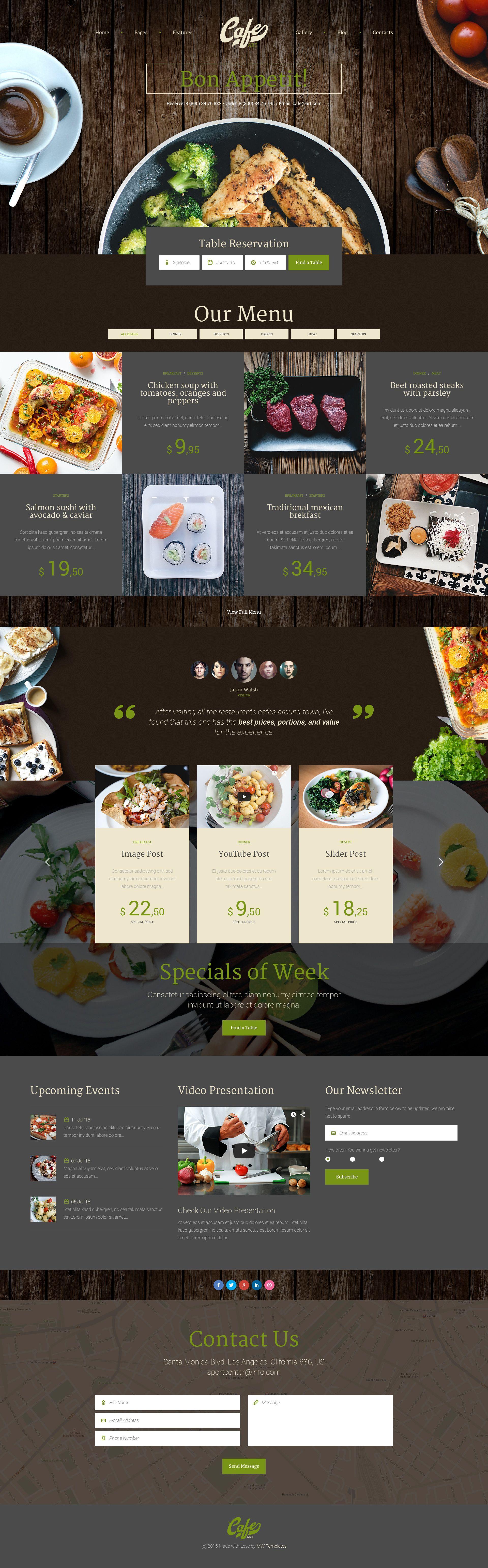47 Most Creative Wordpress Themes 2020 Updated Web Layout Design Food Web Design Web Design