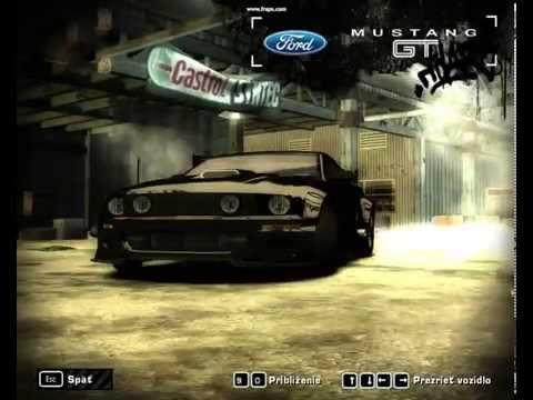 Cool Need For Speed Most Wanted Ford Mustang Gt Customize