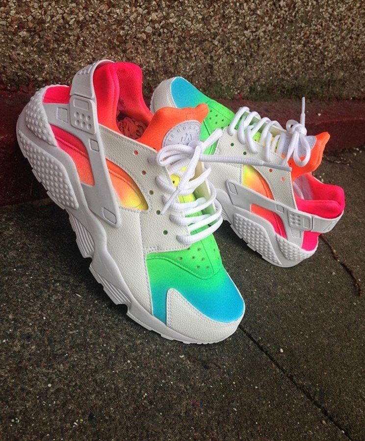 sports shoes aec05 9a960 Image of Ombré Huarache | Shoes - ALL in 2019 | Shoes, Nike ...
